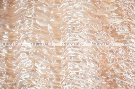 Austrian Wave Satin - Fabric by the yard - Champagne
