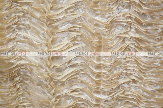 Austrian Wave Satin - Fabric by the yard - Stone