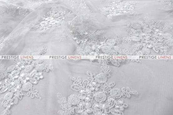 BELLAIRE - Fabric by the yard - White