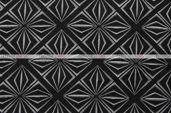 Bentley - Fabric by the yard - Black