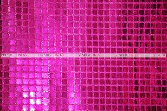 Boxed Sequins - Fabric by the yard - Fuchsia