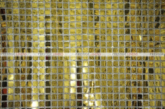 Boxed Sequins - Fabric by the yard - Gold
