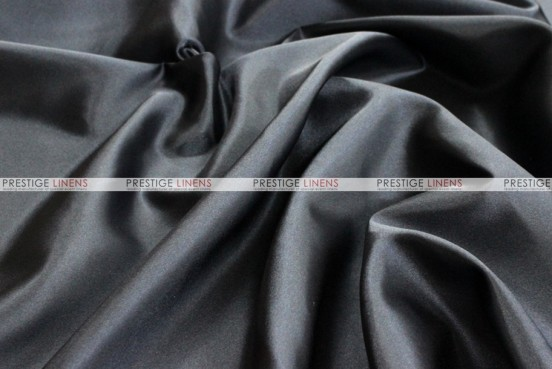 Bridal Satin - Fabric by the yard - 1127 Black