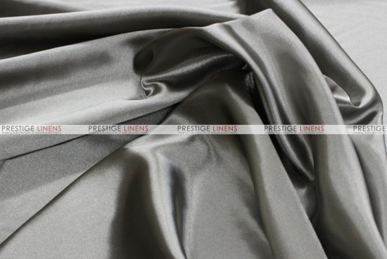 Bridal Satin - Fabric by the yard - 1128 Grey
