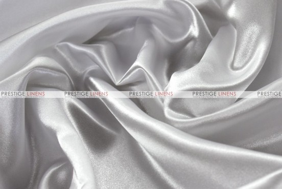 Bridal Satin - Fabric by the yard - 126 White