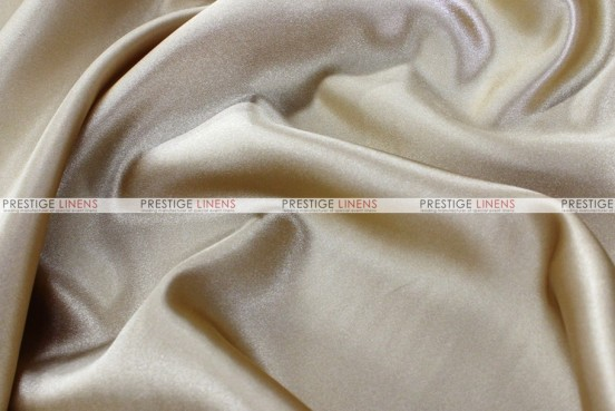 Bridal Satin - Fabric by the yard - 130 Champagne
