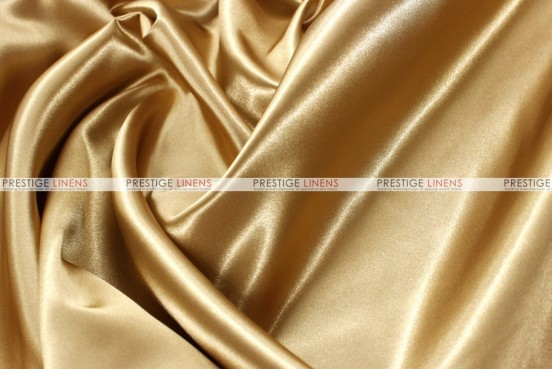 Bridal Satin - Fabric by the yard - 226 Gold
