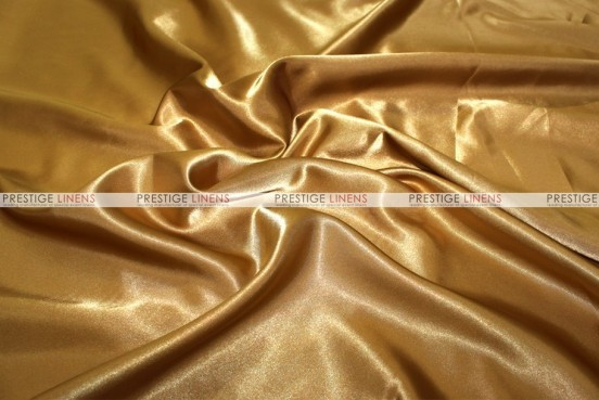 Bridal Satin - Fabric by the yard - 229 Dk Gold