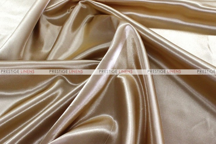 25 Yards Gold Shiny Satin Fabric for Tablecloths Table Runner Overlay Wedding