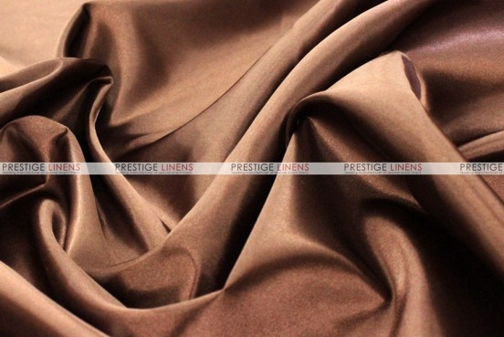 Bridal Satin - Fabric by the yard - 333 Brown