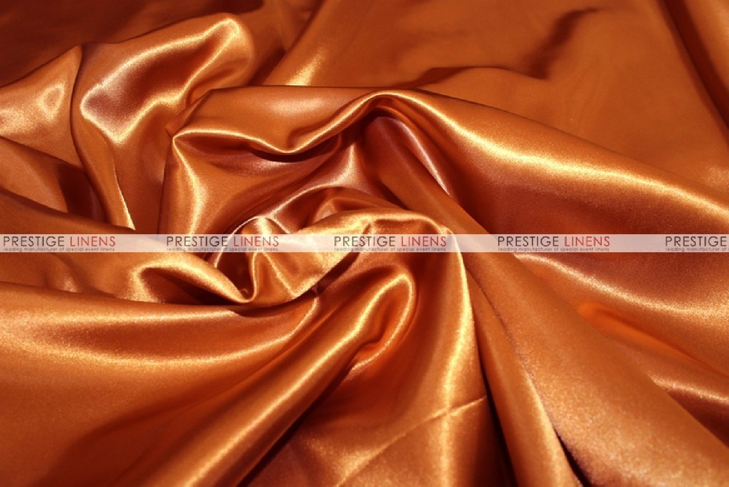 Bridal Satin Fabric By The Yard 337 Rust Prestige Linens