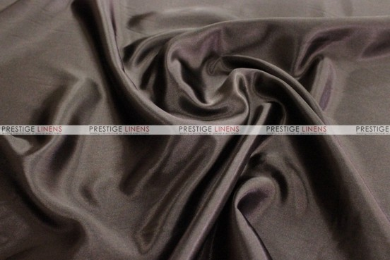 Bridal Satin - Fabric by the yard - 348 Chocolate