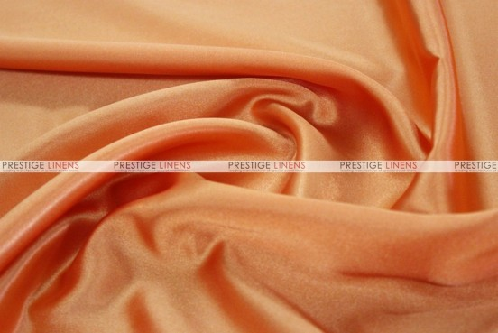 Bridal Satin - Fabric by the yard - 431 Orange