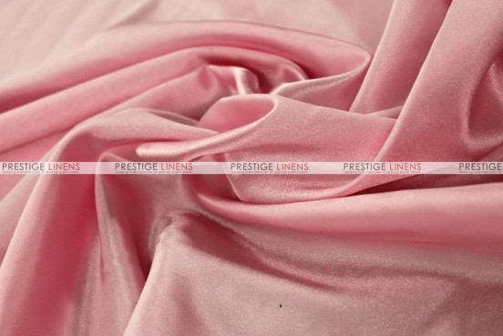 Bridal Satin - Fabric by the yard - 527 Pink