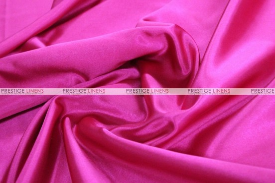 Bridal Satin - Fabric by the yard - 528 Hot Pink