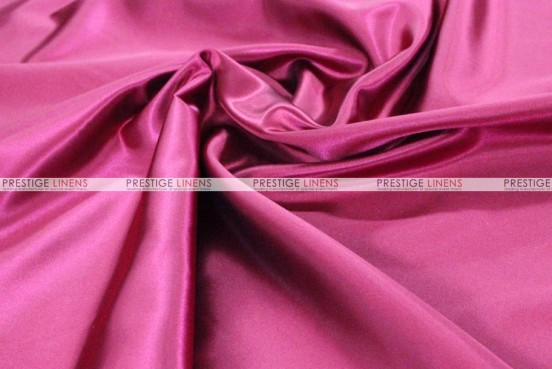 Bridal Satin - Fabric by the yard - 529 Fuchsia