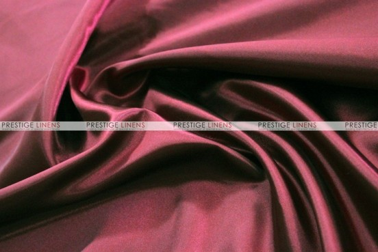 Bridal Satin - Fabric by the yard - 628 Burgundy