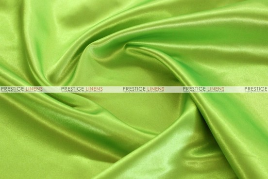 Bridal Satin - Fabric by the yard - 726 Lime