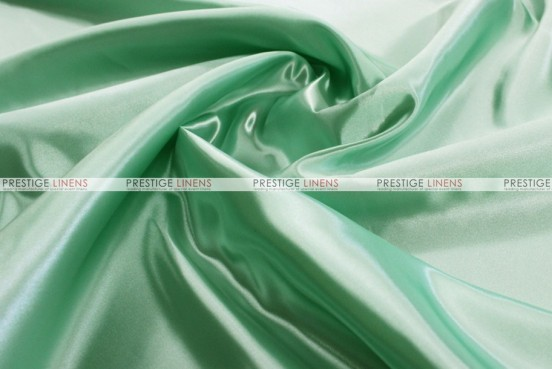 Bridal Satin - Fabric by the yard - 730 Mint