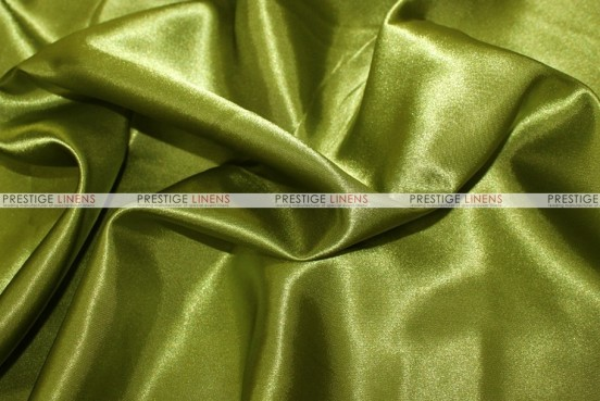 Bridal Satin - Fabric by the yard - 749 Dk Lime