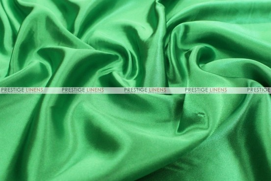 Bridal Satin - Fabric by the yard - 755 Kelly Green