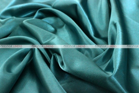 Bridal Satin - Fabric by the yard - 764 Lt Teal