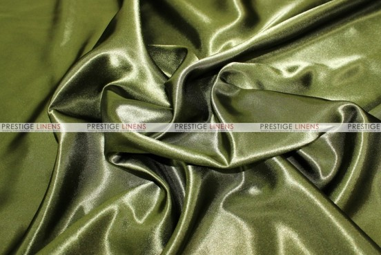 Bridal Satin - Fabric by the yard - 830 Olive