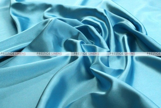 Bridal Satin - Fabric by the yard - 927 Aqua