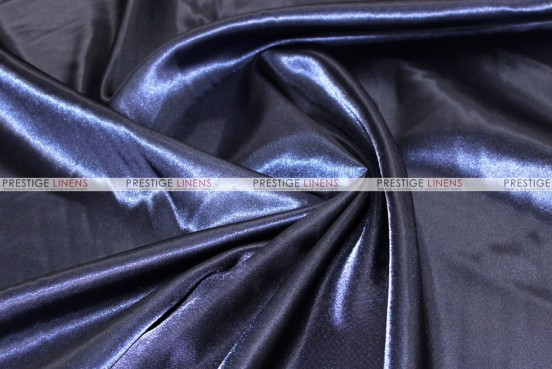 Bridal Satin - Fabric by the yard - 934 Navy