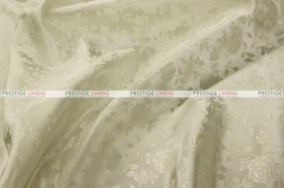 Brocade Satin - Fabric by the yard - Ivory