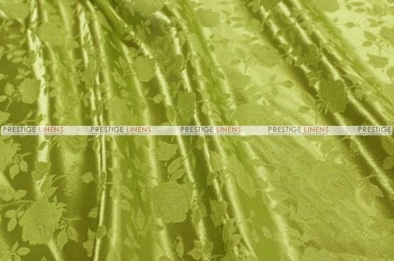 Brocade Satin - Fabric by the yard - Kiwi