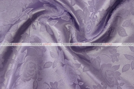 Brocade Satin - Fabric by the yard - Lavender