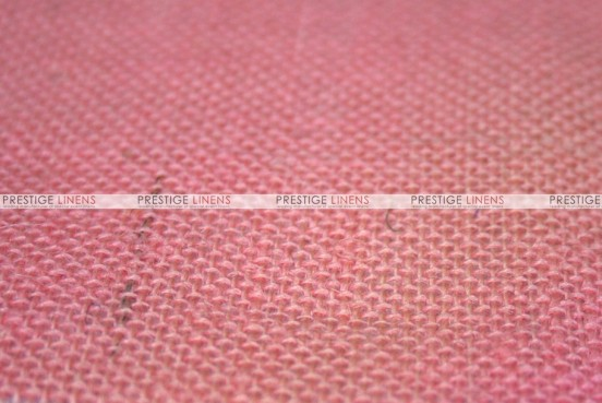 Burlap - Fabric by the yard - Pink