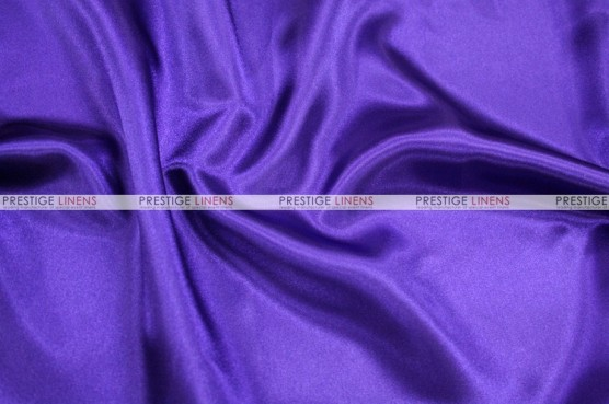 Charmeuse Satin - Fabric by the yard - 1032 Purple