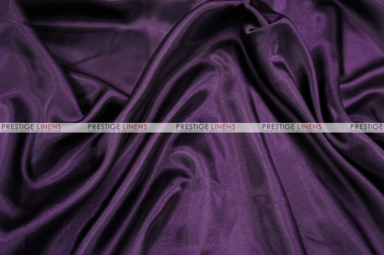 Charmeuse Satin - Fabric by the yard - 1034 Plum