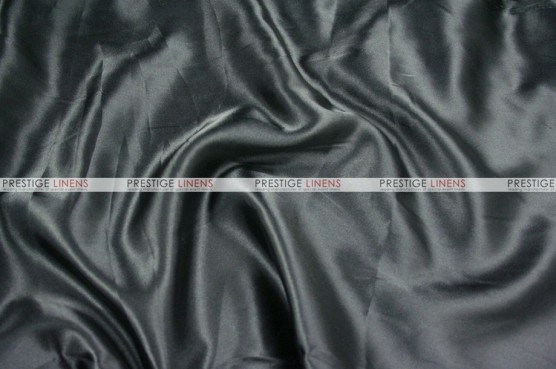 Charmeuse Satin - Fabric by the yard - 1127 Black