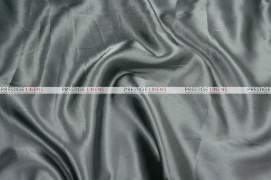 Charmeuse Satin - Fabric by the yard - 1128 Grey