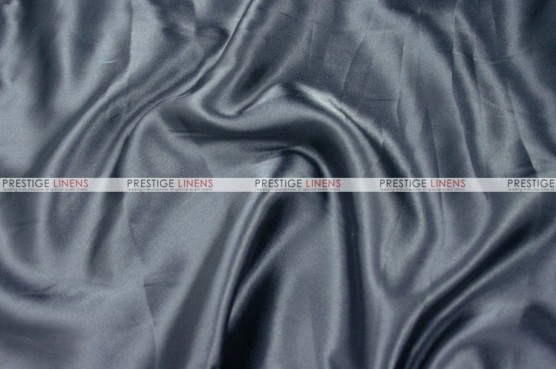 Charmeuse Satin - Fabric by the yard - 1139 Charcoal