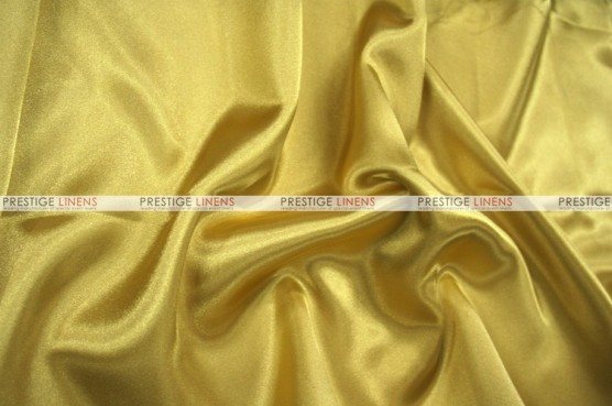 Charmeuse Satin - Fabric by the yard - 136 Honey