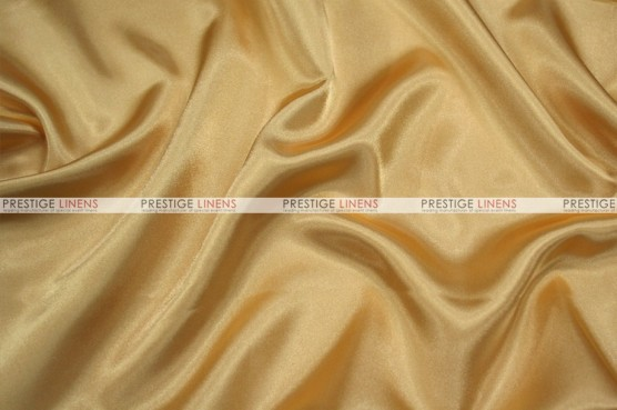 Charmeuse Satin - Fabric by the yard - 226 Gold