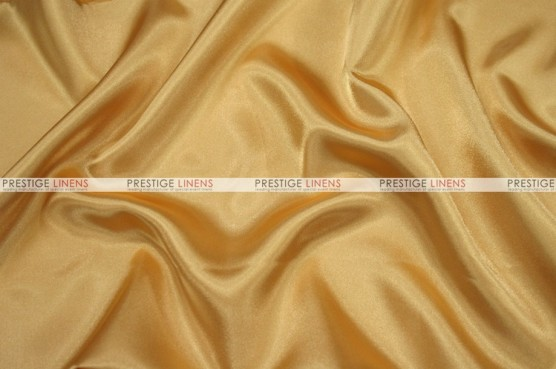 Charmeuse Satin - Fabric by the yard - 230 Sungold