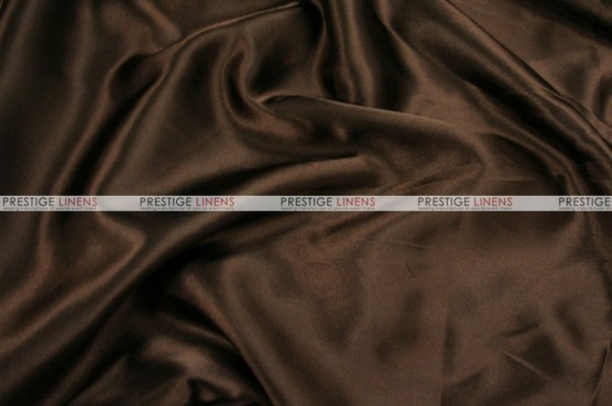 Charmeuse Satin - Fabric by the yard - 333 Brown