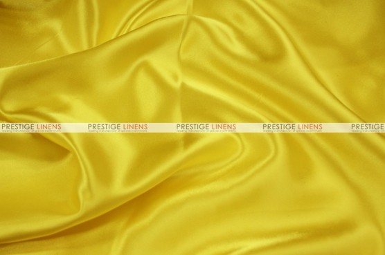 Charmeuse Satin - Fabric by the yard - 426 Yellow