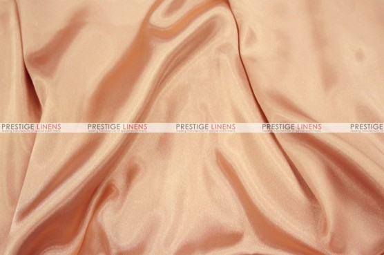 Charmeuse Satin - Fabric by the yard - 430 Peach