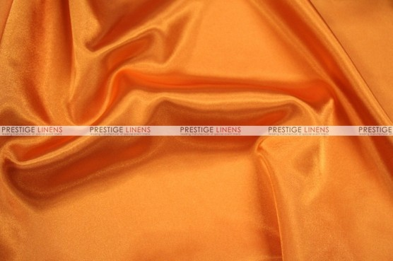 Charmeuse Satin - Fabric by the yard - 431 Orange