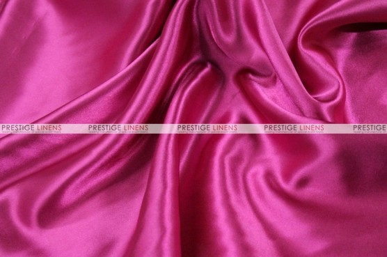 Charmeuse Satin - Fabric by the yard - 529 Fuchsia
