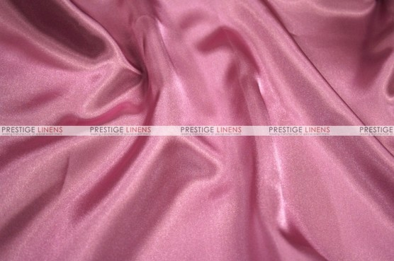 Charmeuse Satin - Fabric by the yard - 531 Dk Rose
