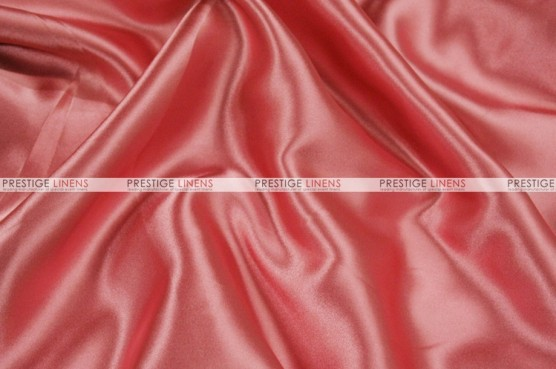 Charmeuse Satin - Fabric by the yard - 560 Dolce Pink