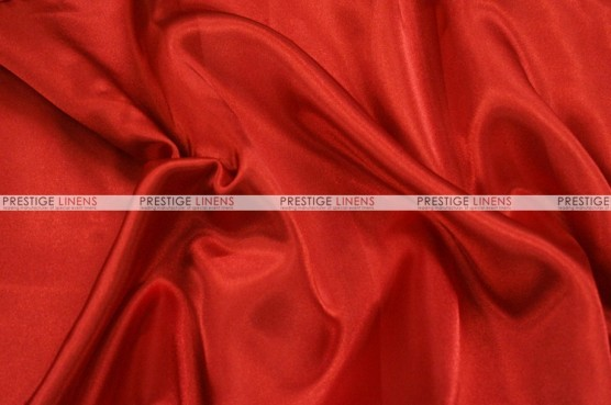 Charmeuse Satin - Fabric by the yard - 626 Red