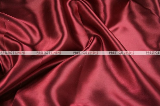 Charmeuse Satin - Fabric by the yard - 627 Cranberry